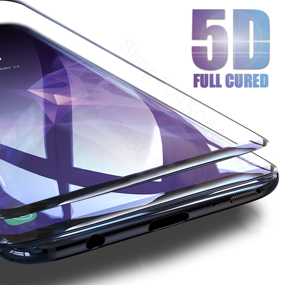 5D Curved Tempered <font><b>Glass</b></font> For <font><b>Samsung</b></font> A5 2017 Protective <font><b>Glass</b></font> For <font><b>Samsung</b></font> Galaxy J3 J5 J7 A3 A5 A7 2017 Plus A8 2018 Cover Case image