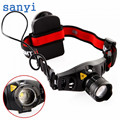 sanyi Zoom in/out 4 modes Q5 LED Headlight 800Lm Head Lamp Portable Cycling Climbing Camping Outdoor Headlamp USE 3 * AAA