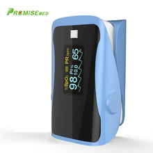 PRCMISEMED Household Health Monitors Pulse Oximeters Finger Oxygen Fingertip Oximeter SPO2 Oximetro-blue