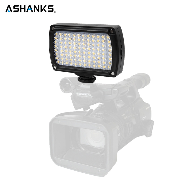 New Photo Lighting 96 LED Bulbs on Camera Video Light Hotshoe LED Lamp Lighting for Camcorder DSLR Wedding Photography Lighting