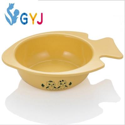 Baby bowl made of corn 250ML Safety Environmental baby feeding bowl carton Mickey Minnie dish child plate kids dinnerware W17