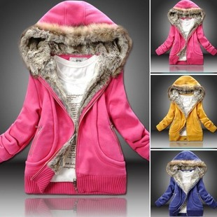 Aliexpress.com : Buy Faux Fur Lining Women&39s Fur Hoodies Ladies