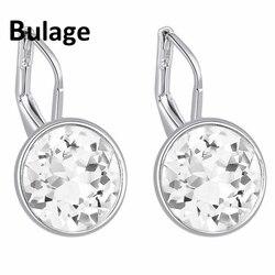 100% Original Crystals From Swarovski Bella Mini Piercing Earrings 2017 Fashion Stud Earrings Party Jewelry Women Wedding Gift