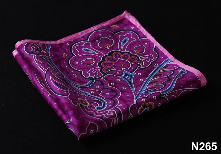 N265 HN26P Purple Pink Paisley 35cm