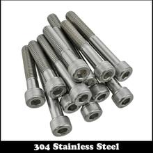 M10 M10*70/80/90/100 M10x70/80/90/100 304 Stainless Steel 304ss Half Partial Thread Allen Head Hex Hexagon Socket Cap Screw