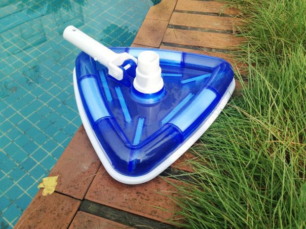 US $29.99  Clear View Vacuum Triangular Shape Swimming Pool Vinyl Liner  Pool Vacuums Pool cleaning brush-in Cleaning Brushes from Home & Garden on  ...