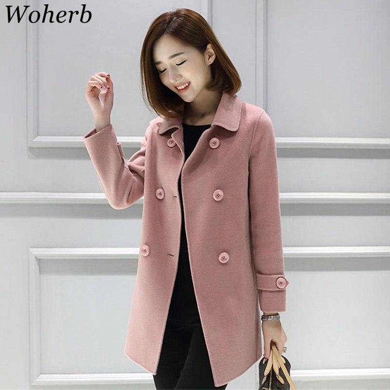 gris Las 2019 Damas Oscuro Chaqueta Abrigo Doble Primavera Mujeres 20396 Casual Coreanas rosado Elegante Abrigos Woherb De Mujer Beige rojo Breasted xB1wfTqp