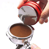 Stainless Steel 4 Color 58mm with heigh adjustable coffee tamper mat coffee tamper coffee press