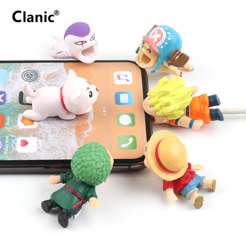 Japen anime cable bite cable protector for iphone cord organizer cable chompers charger wire saver cute