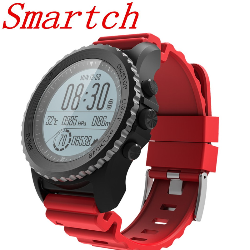 Smartch S968 Bluetooth Smart Watch Phone GPS Watch Men Heart Rate Monitoring IP68 Waterproof Smartwatch For Android Phone PK H1 smartch h1 smart watch ip68 waterproof 1 39inch 400 400 gps wifi 3g heart rate 4gb 512mb smartwatch for android ios camera 500