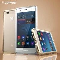 Dla Huawei P9 Lite Zderzak Case Oryginalny LUPHIE Marki Najwyższej Rapier seria Slim Metalowe etui na Telefony Pokrywa Dla Huawei P9 P9 Lite