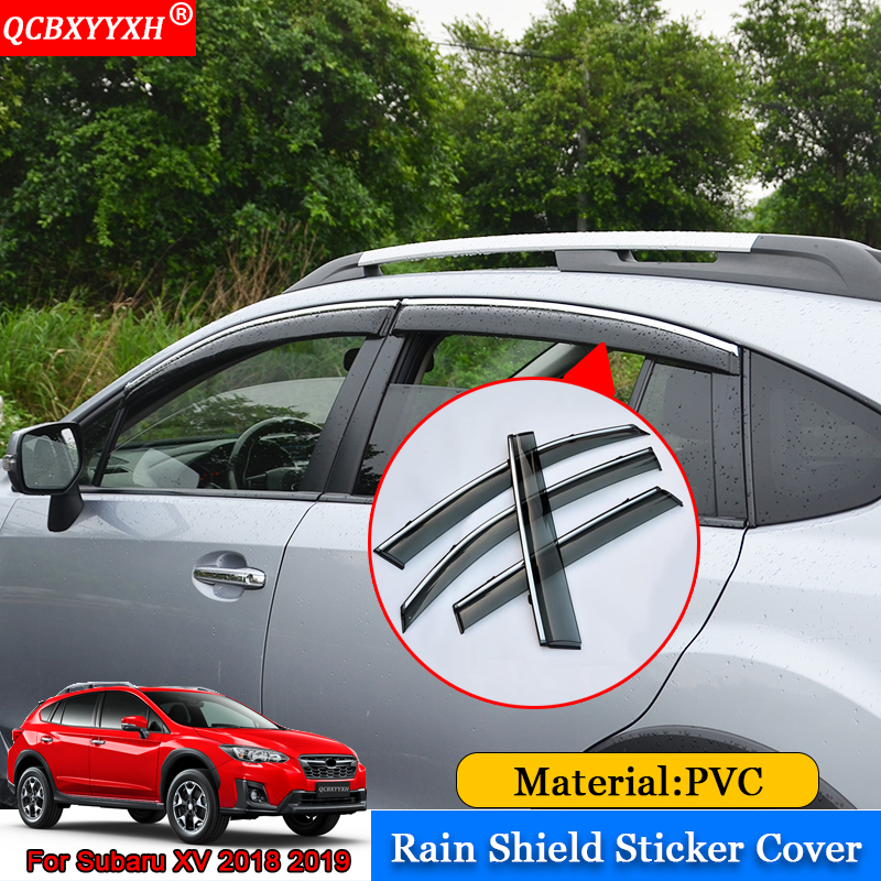 QCBXYYXH Car styling Car Awnings Shelters Window Visors Sun Rain Shield Stickers Covers Auto Accessories For