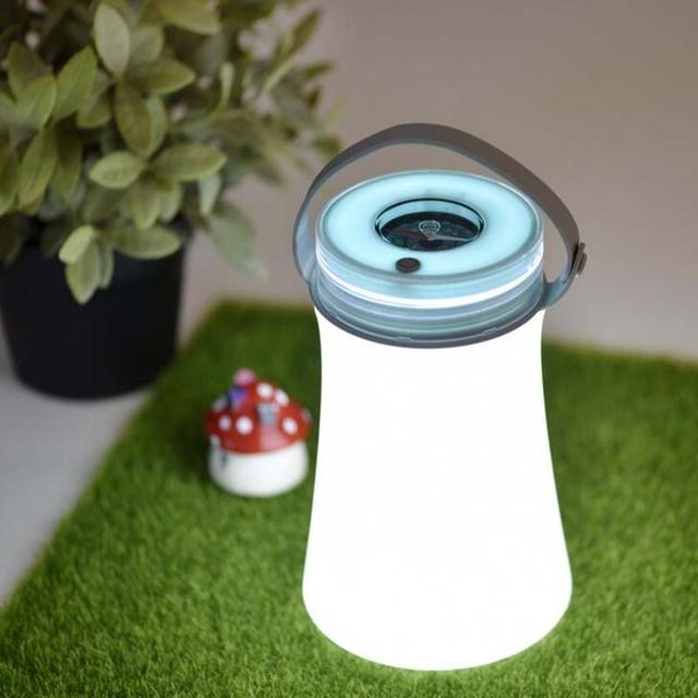1 Unidades de La Novedad Juguetes USB Multi-función LED Light-UP Juguetes Al Aire Libre Mango de Silicona Sellado A Prueba de agua Que Acampa Recargable lámparas
