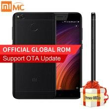 Оригинал xiaomi redmi 4x pro простые мобильного телефона 4 ГБ ram 64 ГБ ROM Snapdragon 435 Octa Core 13.0MP 4 Г FDD LTE 4100 мАч Отпечатков Пальцев
