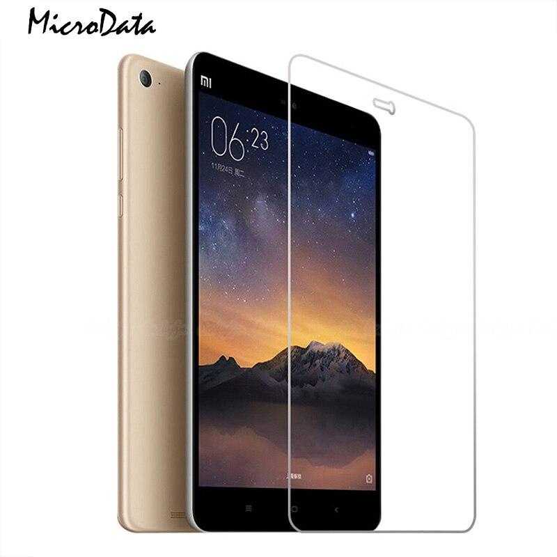 Microdati Copertura Completa Protezione Dello Schermo In Vetro Temperato Per Xiaomi Mi Pad 2 3 Per MiPad 3 2 Protettiva Premium Temperato pellicola