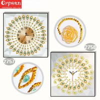Clock Diamond Painting 5D DIY Embroidery Creative Partical Round&Special Gift Decor Arts Crafts&Sewing Needlework Cross Stitch