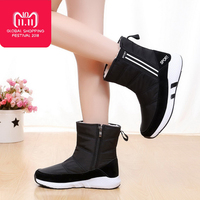 New 2018 Women winter boots platform ankle boots non slip waterproof snow boots women winter shoes for 40 degrees