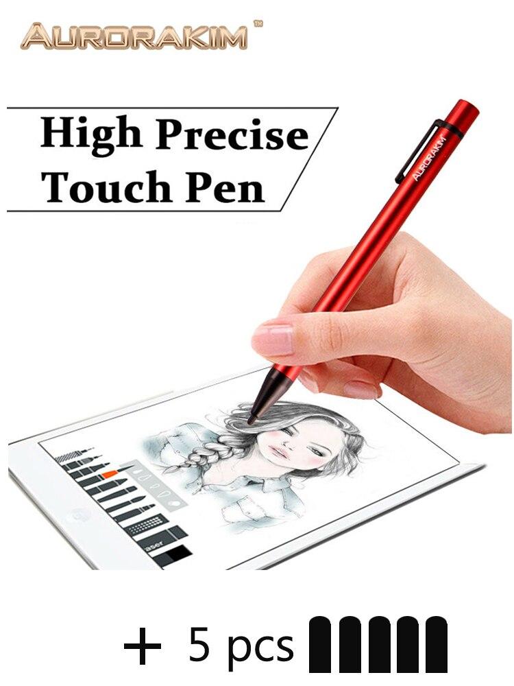 Para xiaomi desenho tablet iphone caneta para xiaomi huawei iphone e tablet fino nib caneta de toque para desenho sem necessidade wi-fi