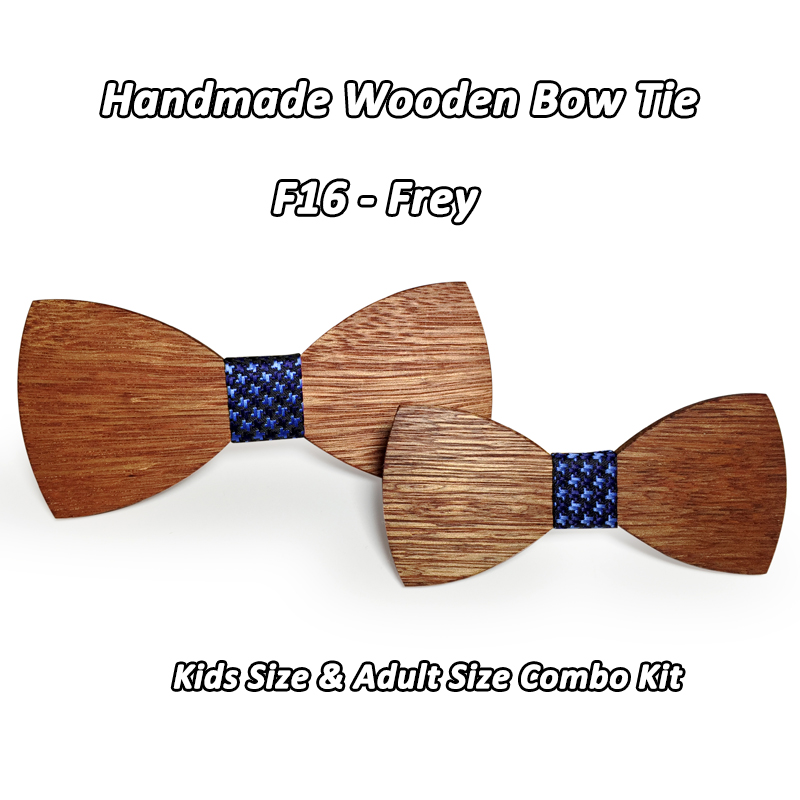 67c44a668ef19 US $1.9 43% OFF|Baby Boys Girls Bowtie Kids Wooden Bow Ties necktie Small  Size Butterfly School Child Student bow tie Cravat Gravatas COMBO-in Boy's  ...