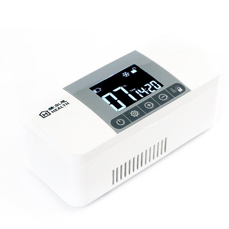 2018New Prodotto ues Portatile mini box frigo insulina Portatile Drug Reefer Car Piccolo Frigorifero