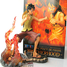 2016 hot sale 18cm Battle mode Luffy Action Figures PVC Japaness Anime Cosplay Monkey Luffy Action Figures Model Collection