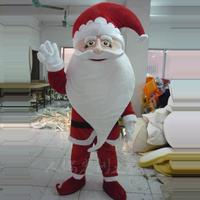 Santa Claus Mascot Costume Christams Fancy Party Cosplay Dress Adult Boy Mascots
