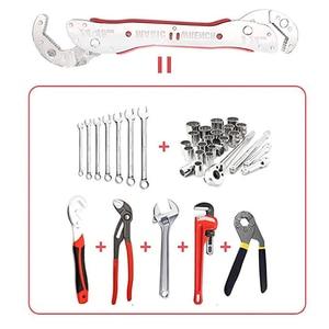 Image 5 - KALAIDUN clé multifonction ajustable, douille à cliquet, couple 9 à 45mm, clé universelle, clé magique pour jeux de clés, outils manuels de réparation pour la maison