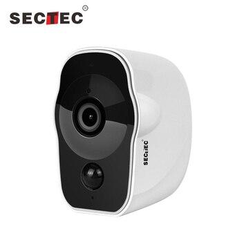 INQMEGA 1080 P работающая от батареи Беспроводная ip-камера безопасности Водонепроницаемая наружная низкое энергопотребление камера видеонаблюд...