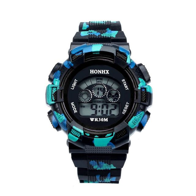 New Fashion Design Baby Boys Watches Digital LED Date Quartz Sports Wrist Watch