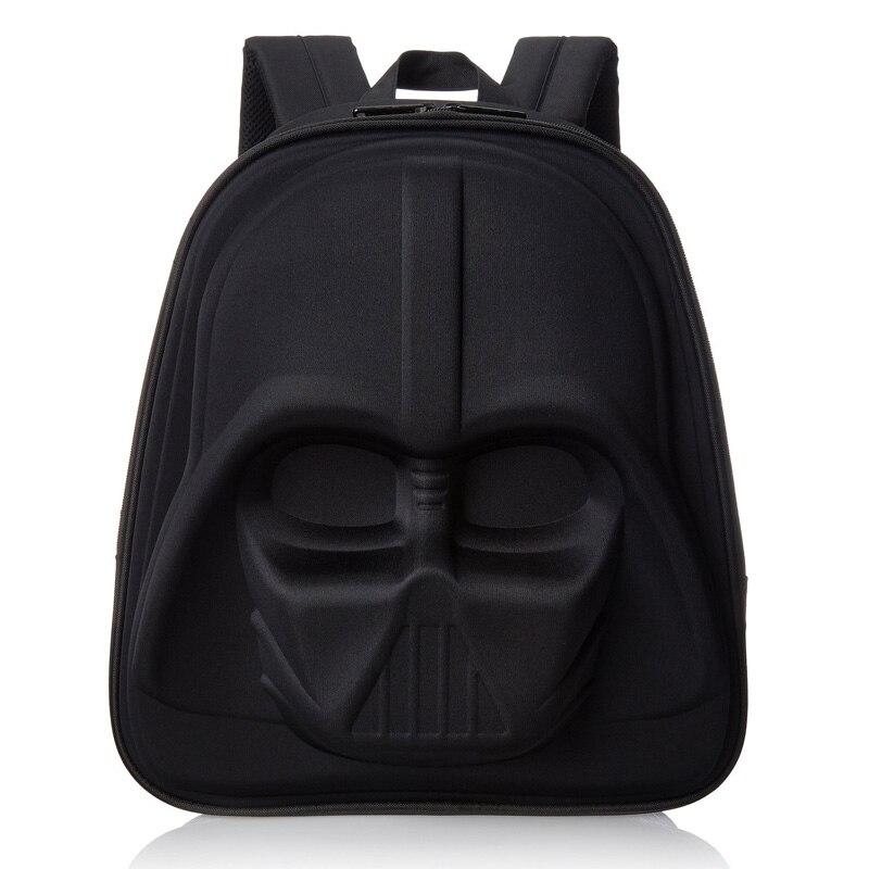 Black and white Children s Cartoon Anime Bag Kid s School Backpack 3D Star Wars Backpacks
