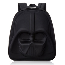 Black and white Children's Cartoon Anime Bag Kid's School Backpack 3D Star Wars Backpacks