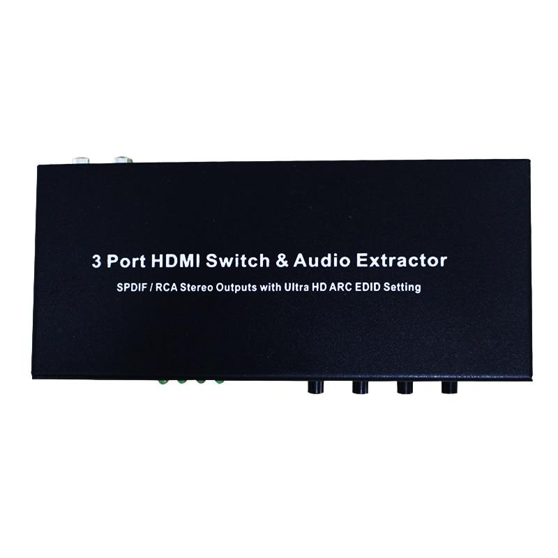 3port hdmi to hdmi audio spdif l r spdif rca stereo. Black Bedroom Furniture Sets. Home Design Ideas