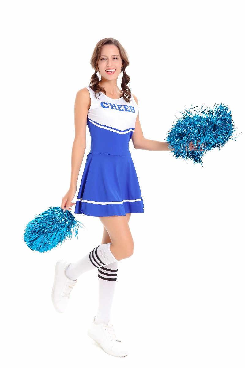 8bca04cc7 La Escuela Secundaria de animadoras Glee traje de la animadora aeróbicos  ropa uniformes para las actuaciones
