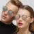 BOUTIQUE New Arrival Steampunk Mulheres Óculos De Sol Se Cruzam Homens Quadro Óculos de Personalidade Do Vintage Rodada Óculos De Sol Retro