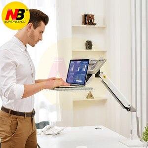Image 5 - Suporte dobrável para laptop nb fb17, suporte para laptop de 11 17 polegadas, para laptop e notebook montagem da bandeja do teclado