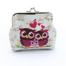 2019 New Wallets Fashion Wild Women Wallets Small Fashion Brand Women Lady Retro Vintage Owl Leather Hasp Purse Clutch Bag K530 brand new lovely women lady retro vintage owl print small wallet hasp purse clutch bag hasp coin purses small