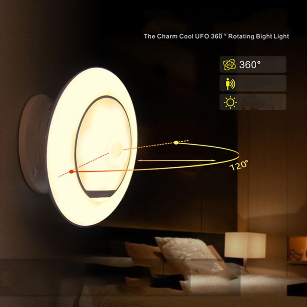 art lighting wireless. HGhomeart 360 Degree PIR Motion Sensor Night Light Led Wireless Wall Lamp Lighting Closet Battery Luminarias-in Lights From Art