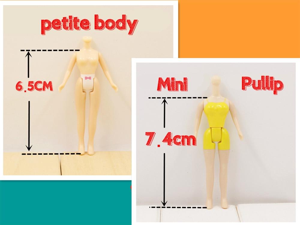 Free shipping mini blyth body petite body mini pullip body Suitable For DIY Change Toy For Girls кукла pullip gosomi isul