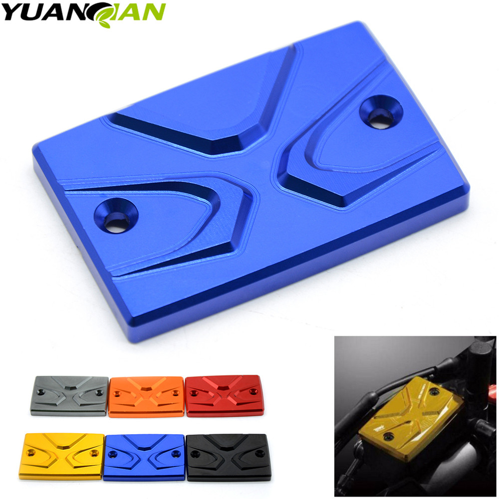 Motorcycle <font><b>accessories</b></font> CNC Brake Fluid Reservoir Cap Cover For <font><b>yamaha</b></font> MT -07 mt-09 FJR1300 FZ1(FZ1N) <font><b>FZS</b></font>(FAZER) FZ6 FZ8 FZ8N image