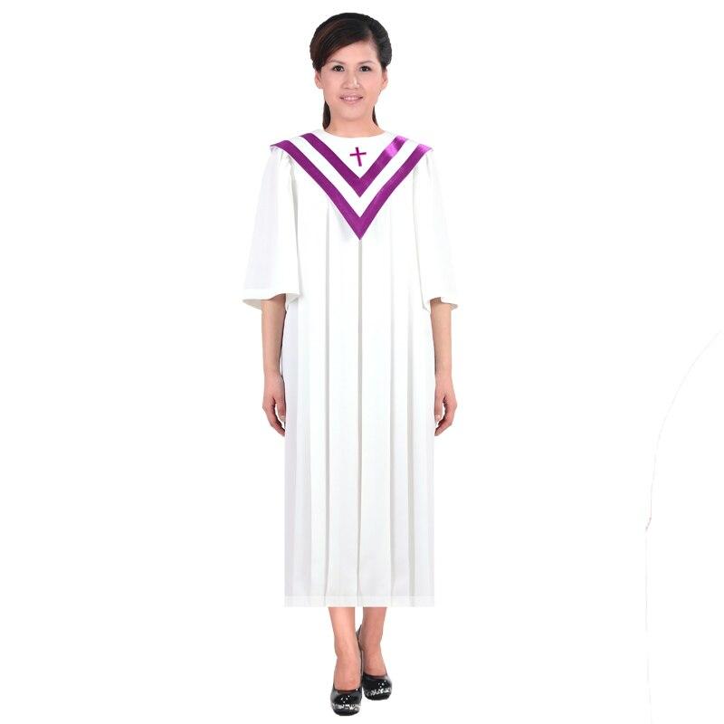 Christian Choir Service New Church Wear  Other Apparel Classic  European Version Of The Church Clothing Wear Christian Gown Robe