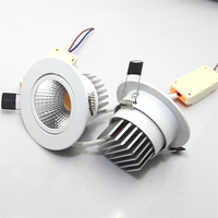 Dimmable COB LED Downlight 7W 10W 12W 15W 20W 30W AC85 265V LED Down Light Dimmable