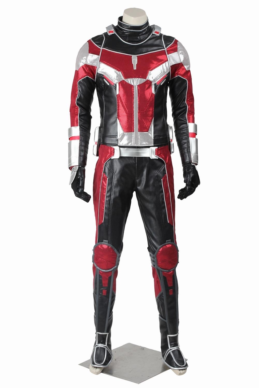 Ant-Man Costume Adult Superhero T-Shirt Halloween Fancy Dress