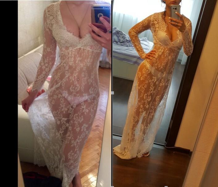 long sexy dress