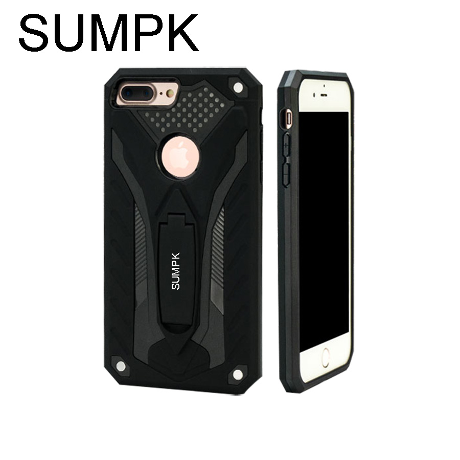 SUMPK Färgglada fodral för fodral 2 i 1 fäste anti-drop fodral - Reservdelar och tillbehör för mobiltelefoner - Foto 3