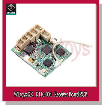 K110 Receiver Board PCB for Wltoys XK K110 RC Helicopter Spare Parts K110-004