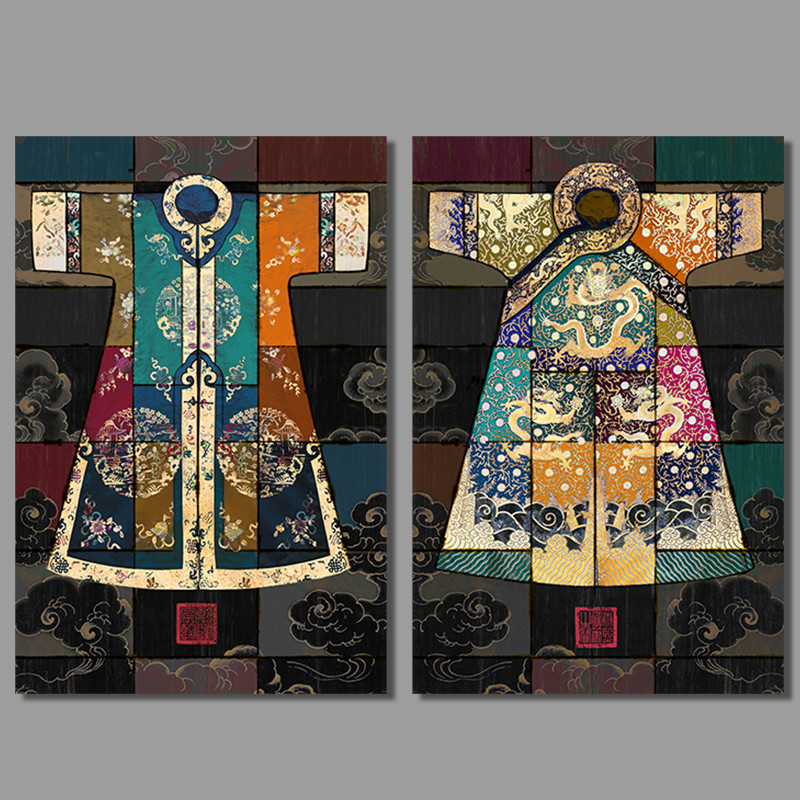 Fundecor Fashion Chinese Style Vintage Home Art Decor: Qing Dynasty Clothing Reviews