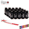 DYNO STORE-New Product RYANSTAR 20pcs flat   top +  Length52MM P12x1.5 P12x1.25 20pcs  wheel lug nuts