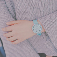 Новые модные женские модные повседневные милые часы корейские женские часы
