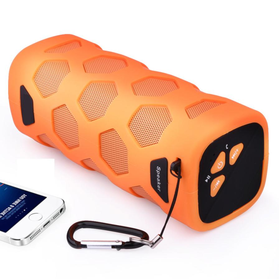 Wireless Bluetoothv4.2 Outdoor Portable Loud Speaker With NFC Mobile Power Three Anti Speaker Waterproof ABS Sound Box