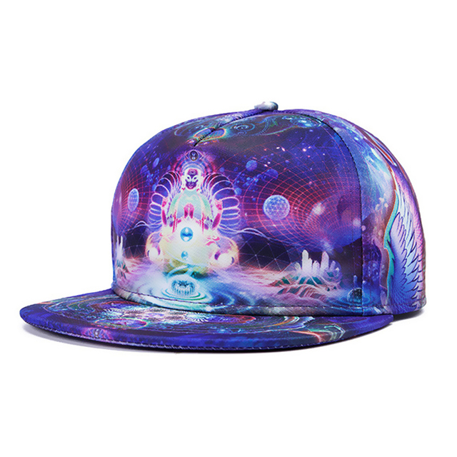 2d9d9680276 Super cool hat 3D Printing Buddha Pattern vintage rap gorras beisbol for men  women WK035
